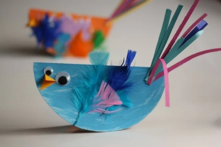 creative crafts bird