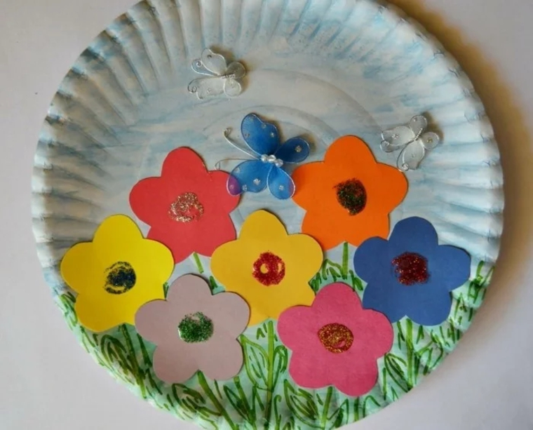 creative crafts with plates