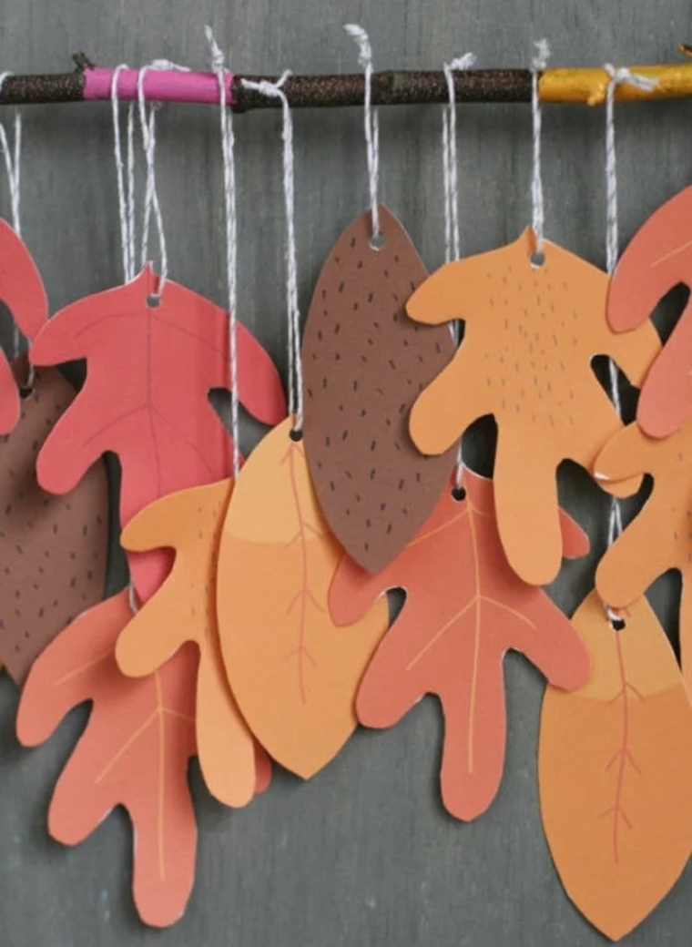 creative leaf-autumnal crafts