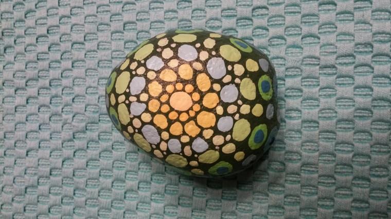 original mandala stone design spots