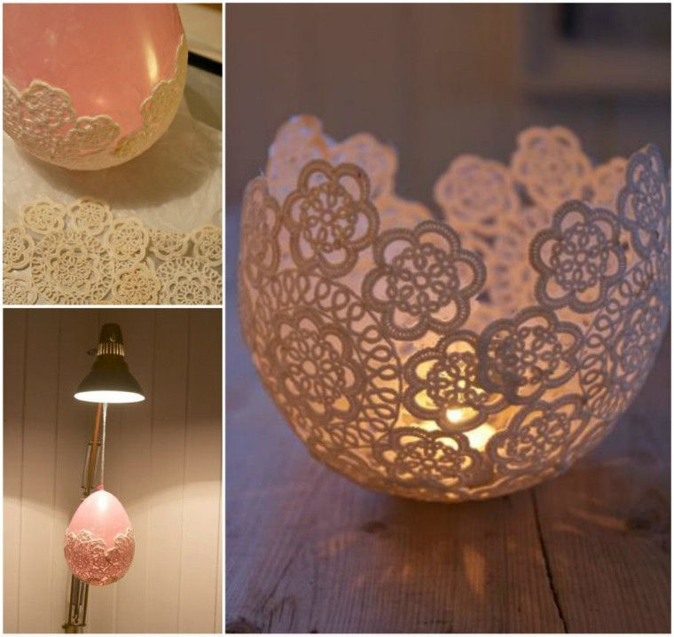 pink lace balloon signature