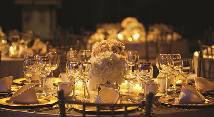 centers table precious weddings romantic lighting ideas