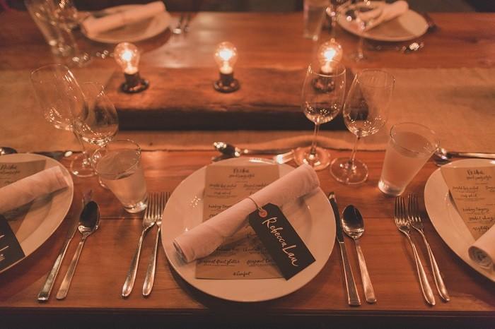 centers table precious weddings wood lamparas ideas