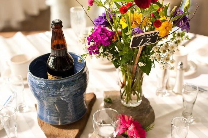 centers table weddings precious stones ideas