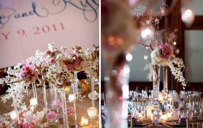 centers table precious weddings precious vases ideas