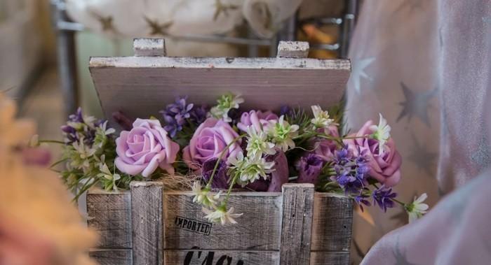 centers wedding box wood ideas