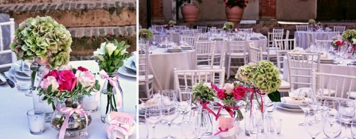 centers for weddings pretty ramantico ideas