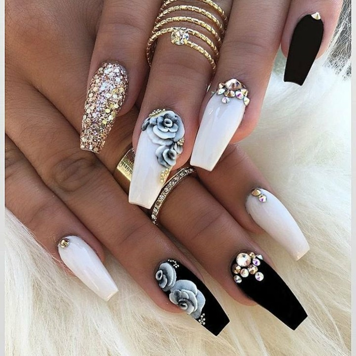 decorated nails ideas modern solutions