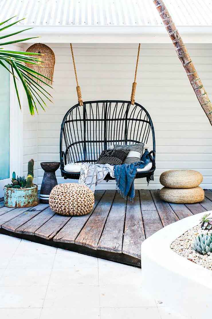Ideas for decorating the terrace - Photo: My Domaine