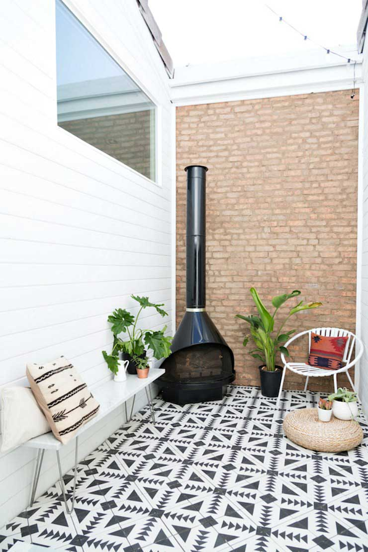 Ideas for decorating the terrace- Photo: The little guide