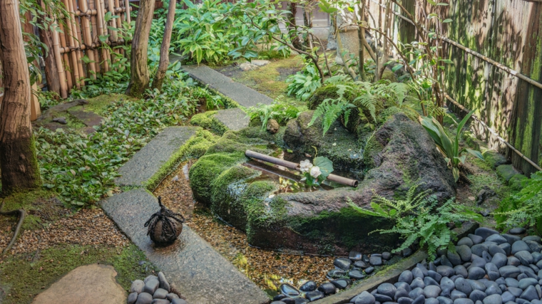 design of Wabi Sabi gardens