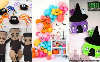 Halloween crafts for kids 2019
