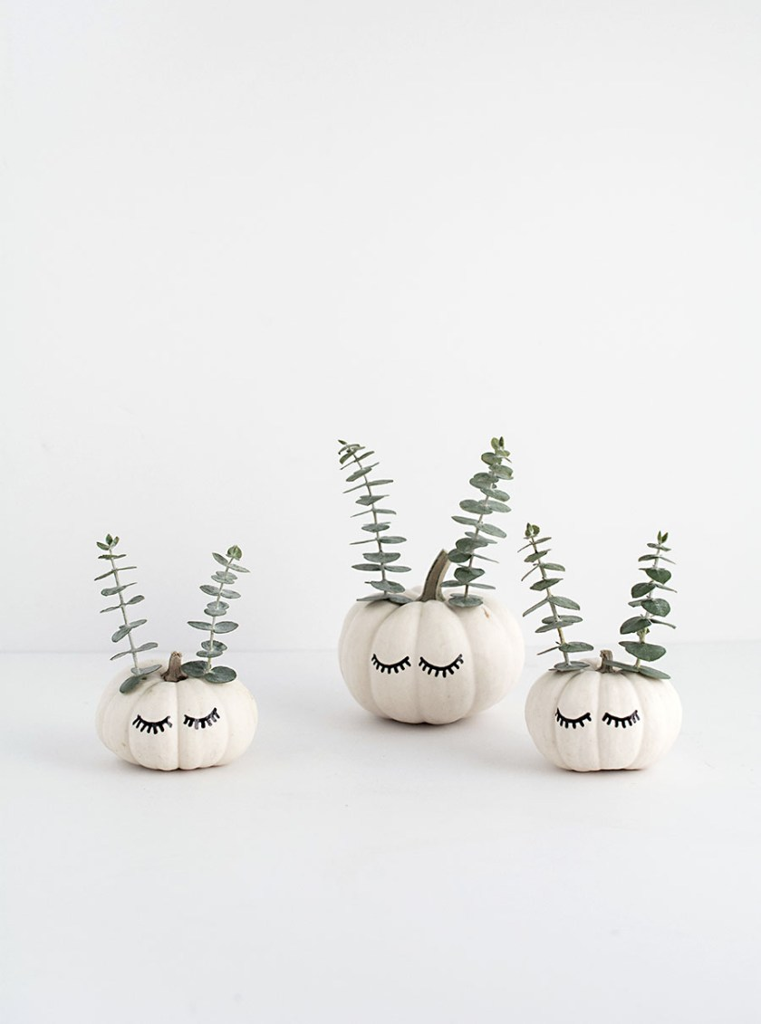 Decorate Modern Pumpkins