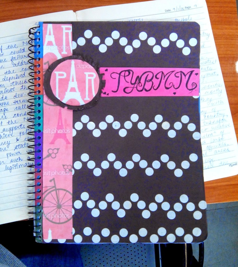 normal decorated notebooks