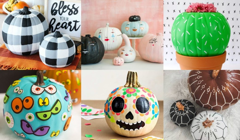 How to decorate pumpkins for Halloween (34 Ideas)