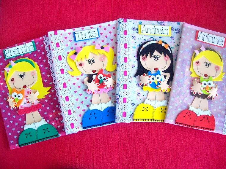beautiful decorated notebooks