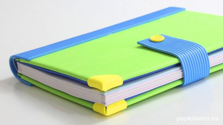 decorated foamii notebooks