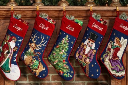 calcetines navideños inicios