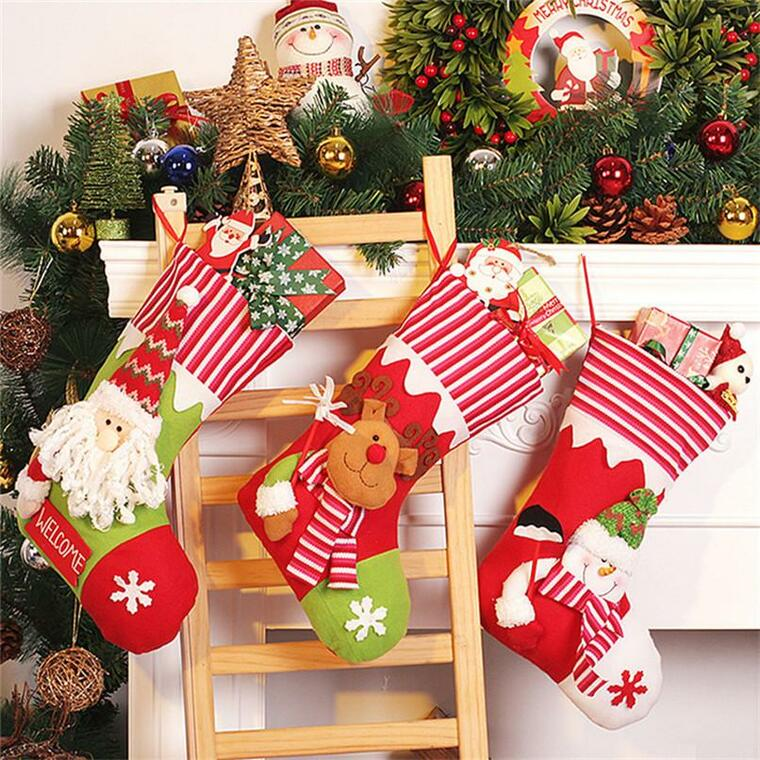 Christmas socks ladder