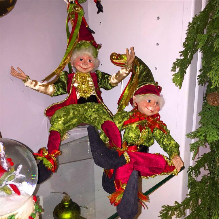 Christmas elves laughs