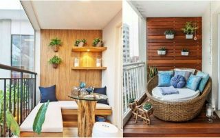 decorate small home balcony