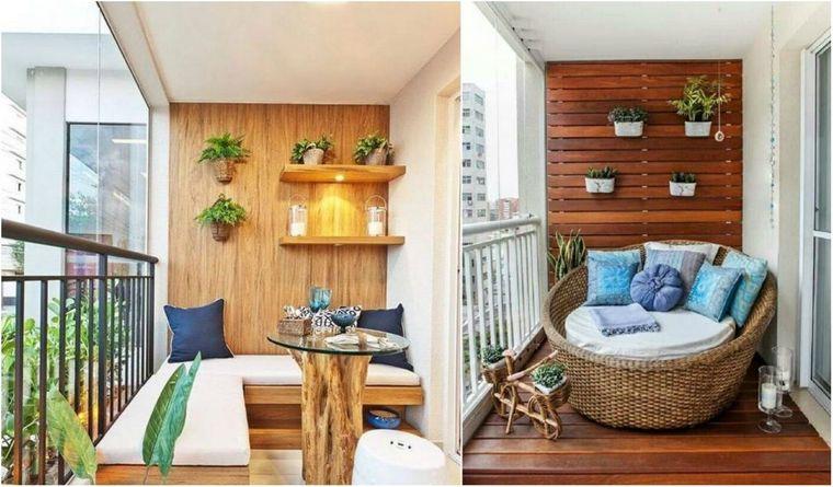 decorate small home balcony