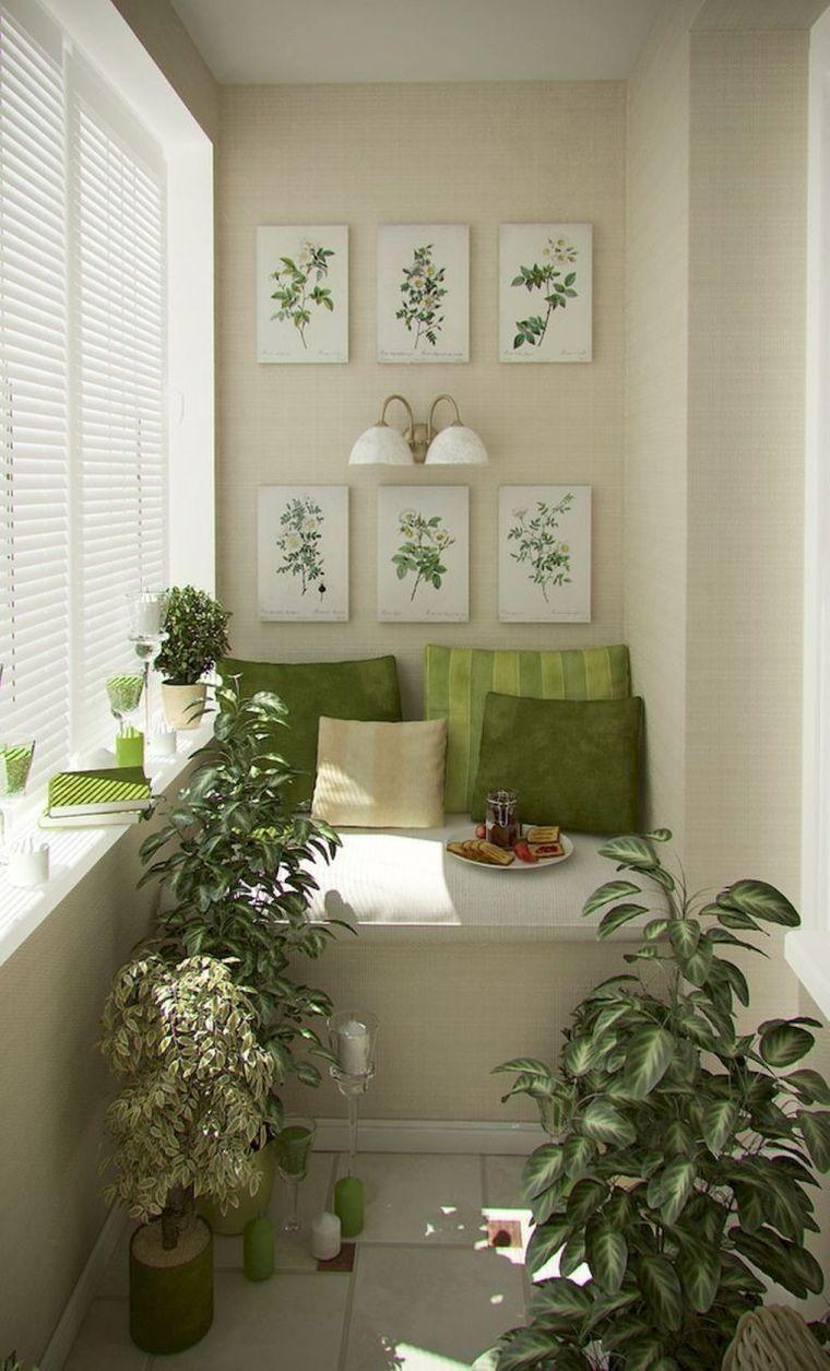 decorate balcony small art