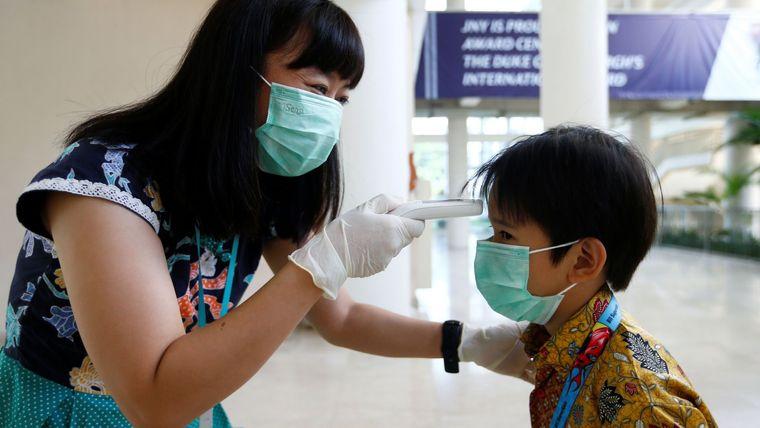 coronavirus thermal scanner