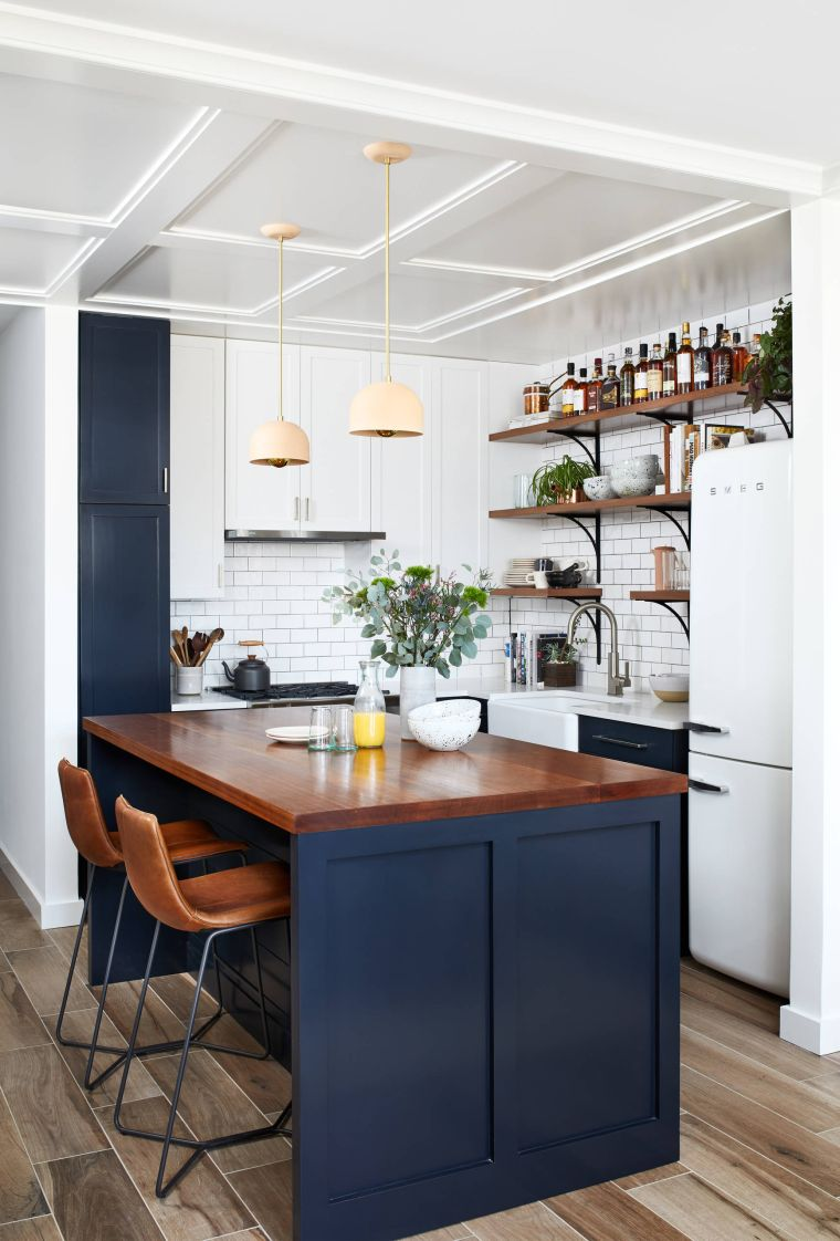 subtle small kitchens