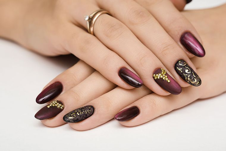 eye-catching manicure types