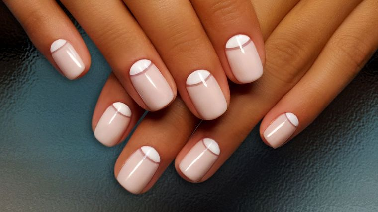 inverted manicure types