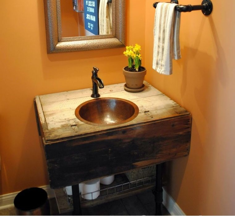 DIY beginner bathroom vanity