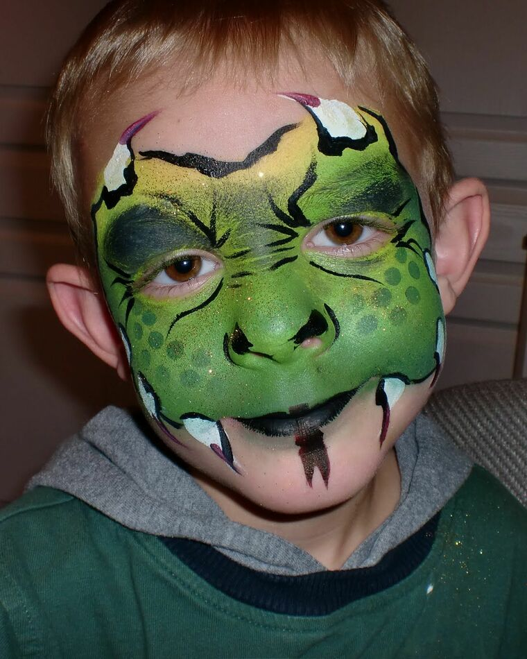 dragoncito children's face painting