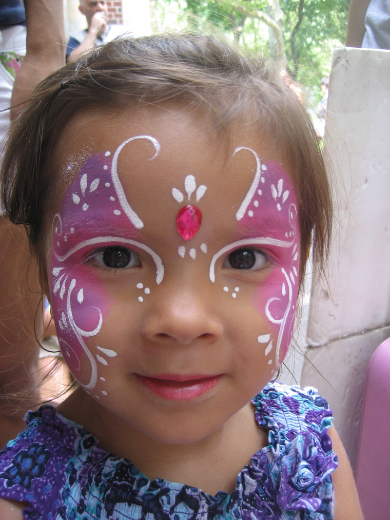 fairy children's face painting