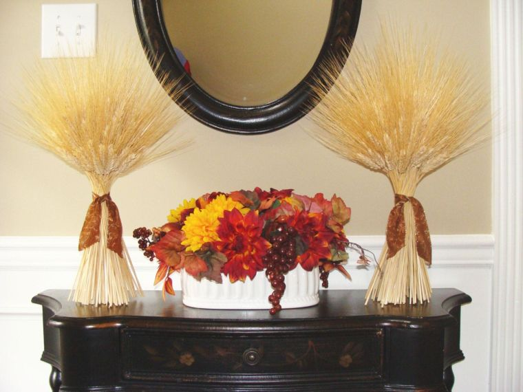 ears of wheat decoration ideas