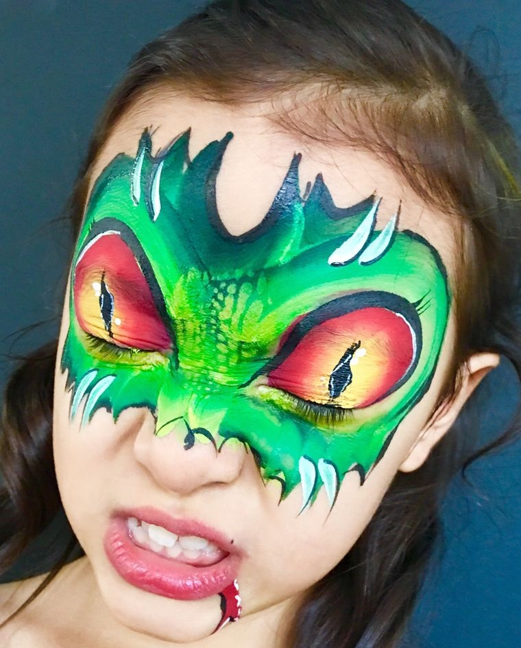 dragonaa children's face painting