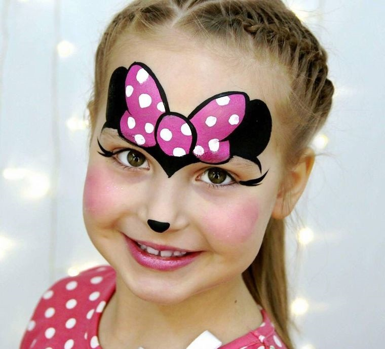 minii children's face painting