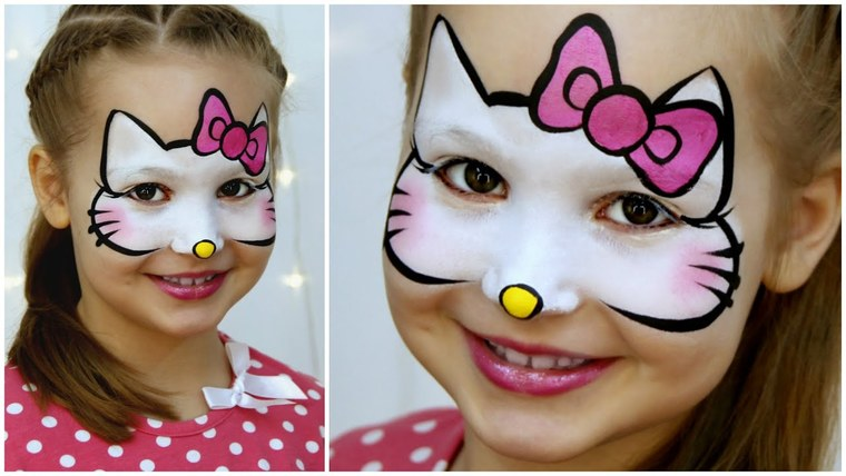 kitti children's face paint