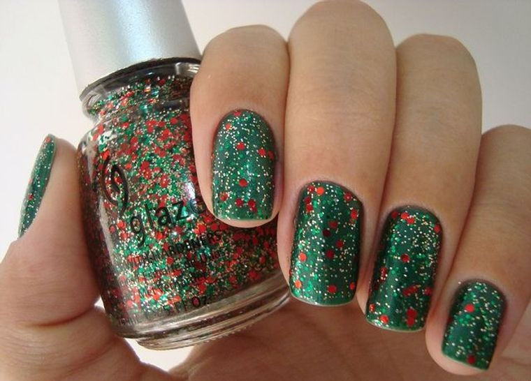 Christmas Nail Polish Designs