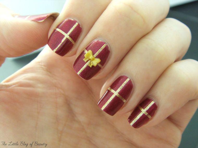 Christmas Nail Designs Gift