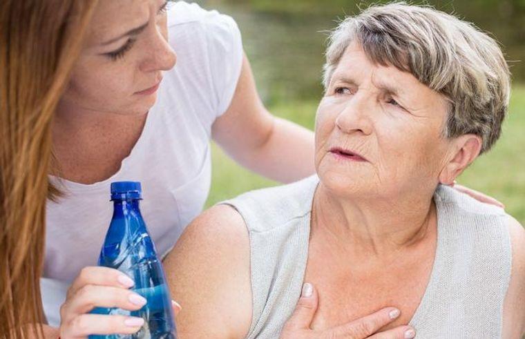 heat stroke people at risk