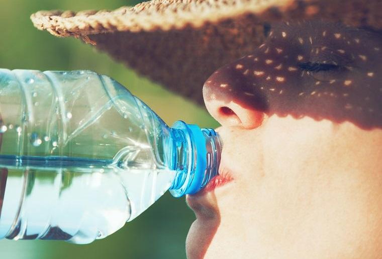 sunburn staying hydrated