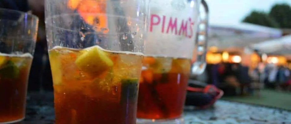 Pimm's on the Southbank