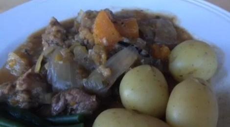 Venison & Pheasant Stew