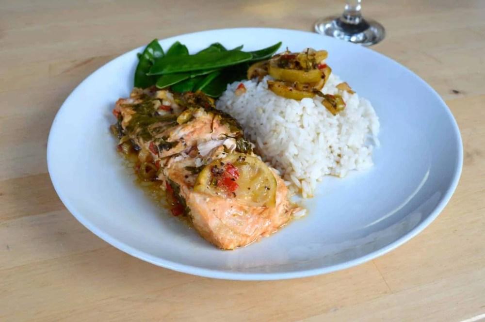 Lime & Chilli Salmon