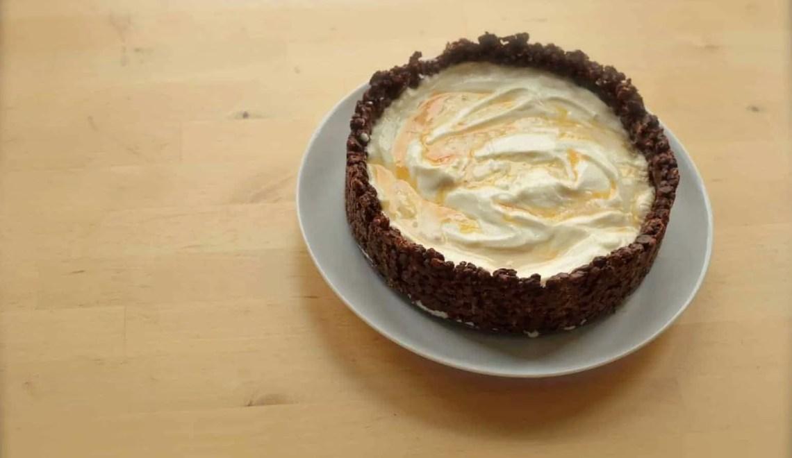 Caramel Ice Cream Cake