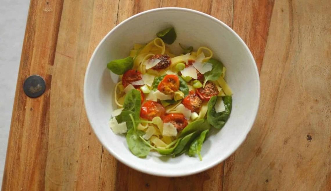 Basil and Roasted Tomato Pasta