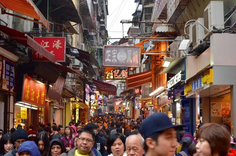 Chinese Streets, Macau