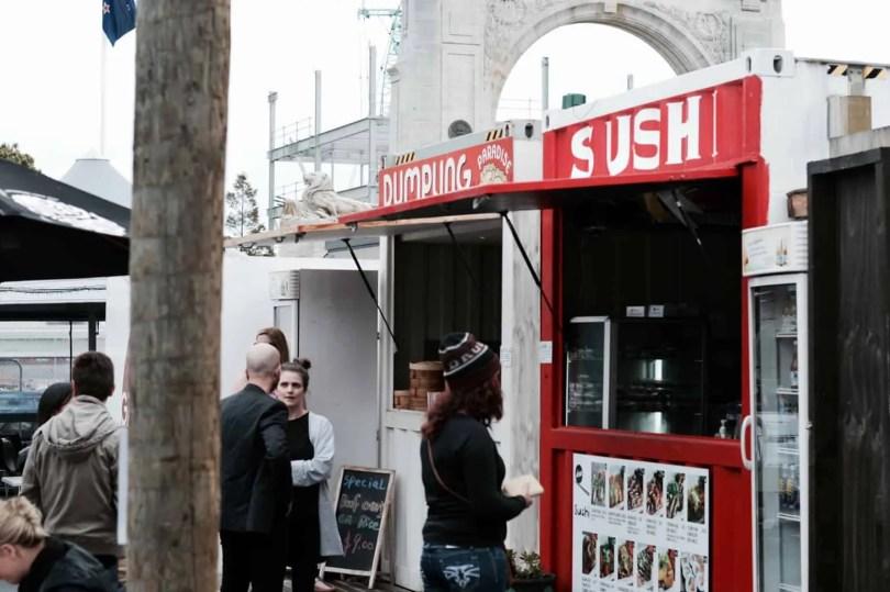 Sushi Stall, Christchurch