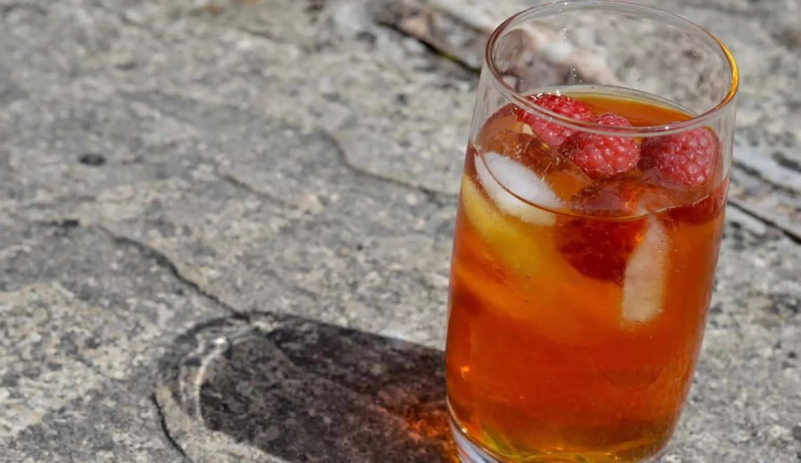Raspberry Rooibos Ice Tea